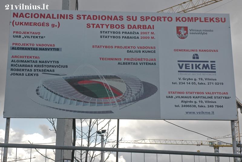 Nacionalinis stadionas | 21vilnius.lt